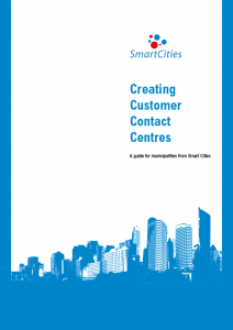 Cover image for 'Creating Customer Contact Centres - A guide for municipalities from Smart Cities'