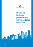'Improving business processes and delivering better e-services – a Smart Cities resource'