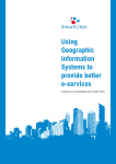 'Using GIS for better e-services – a Smart Cities resource'