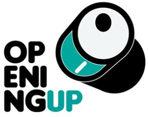Opening UP logo.